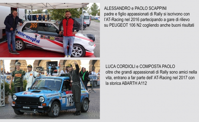 PILOTI AT-RACING -    AT Racing.it